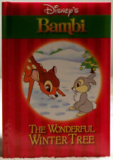 Disney's Bambi - The Wonderful Winter Tree 2002 First Ed -Size 6.5 x 4.5