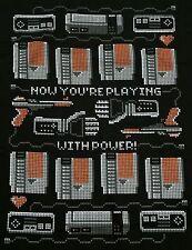 """""""Playing With Power"""" NES Light Gun Power Glove Men's XL Shirt Shirtpunch"""