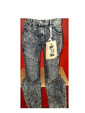 NWT F.U.S.A.I. By FOCUS Acid Washed Stretch Jeans Sz 32/32  ~~~FREESHIPPING~~~