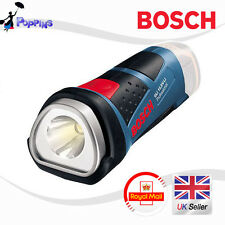 Bosch Inalámbrico LINTERNA GLI 10.8v-li Baterías & Cargador NO INCLUIDA