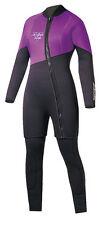 Action Plus Women's 3mm Farmer Jane Two Piece Wetsuit Sz Large MADE IN USA! PL