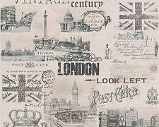 AS Creation Papier peint authentique murs 95205-2 Londres Vintage,rétro ville en