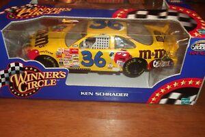 KEN SCHRADER #36 M&M WINNERS CIRCLE 1:24 SCALE NASCAR 2000 NIB 1:24 (79