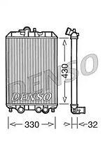 Radiator, engine cooling DENSO DRM22002