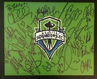 2016 Seattle Sounders FC MLS Cup Champions Team Autographed Signed 8x10 Photo