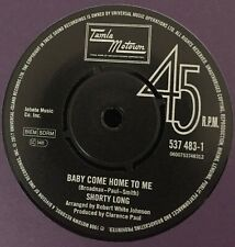 SHORTY LONG/-/-BABY COME HOME TO ME-GLADYS KNIGHT &THE PIPS-/AIN'T YOU GLAD YOU