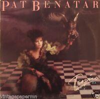 Pat Benatar Tropico 1984 Vinyl LP Chrysalis Records FV 41471