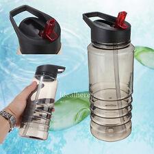 700ML Flip Straw Drinking Water Bottle Outdoor Sport Hydration Cycling BPA Free