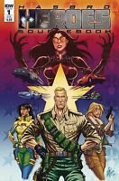 Hasbro Heroes Sourcebook #1 Subscription Variant IDW GI JOE Transformers MASK