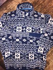 Vintage Patagonia Men's Synchilla Snap-T Fleece Pullover XS Aztec Native
