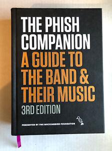 The Phish Companion - 3rd Edition Hardcover Book Mockingbird Foundation