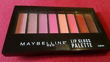 Maybelline New York Lip Gloss Palette - 8 Tonos