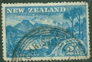 New Zealand. 1898. Pictorials. 2½d, Wakitipu Error. U.