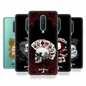 OFFICIAL ALCHEMY GOTHIC SKULL AND CARDS SOFT GEL CASE FOR AMAZON ASUS ONEPLUS