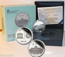 Moneda de 5 Euros. II SERIE PATRIMONIO HUMANIDAD. SALAMANCA. Año 2015. PROOF