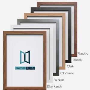 A1 A2 A3 A4 A5 Picture Photo Frame Maxi Poster Frame Wood Finish Black Oak White