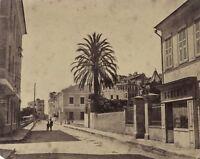 Italia Francia Ville A Identificare Foto Vintage Albumina c1870