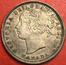 1858 Canada 20 Cents - VF/EF - Lot#3291