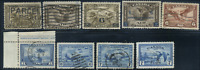 Canada #C1-C9 used F/XF 1928-1946 Airmail Complete Set CV$50.50