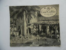 c.1933 Coral Gables Florida Promotional Brochure Homeseeker Booklet Vintage RARE