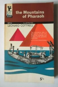 THE MOUNTAINS OF PHARAOH BY LEONARD COTTRELL PAN PIPER PB BOOK 1963
