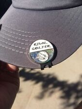 **HOLOGRAPHIC** Ball Marker on Hat Clip