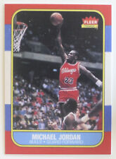 Michael Jordan 1986-87 Fleer RC Reprint