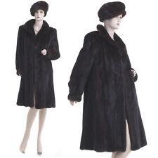 ON SALE! Mint! Dark Mahogany Female Mink Fur Stroller Coat w/Free Mink Hat