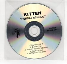(GN864) Kitten, Sunday School - DJ CD