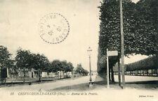 Carte CREVECOEUR LE GRAND Avenue de la Prairie
