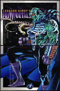 Leonard Nimoy's PRIMORTALS__Original 1994 print AD / promo__Tekno-Comix advert