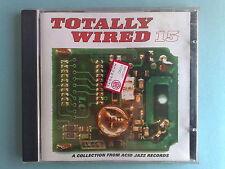 TOTALLY WIRED 15 (CORINNA JOSEPH, PARLOUR TALK, HUGE BABY) - RARO CD ACID JAZZ