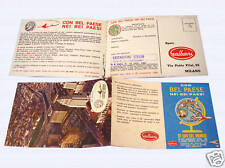 BEL PAESE GALBANI cartolina 1966