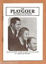 "Sophie Tucker ""LEAVE IT TO ME!"" Cole Porter / William Gaxton 1939 Philadelphia"