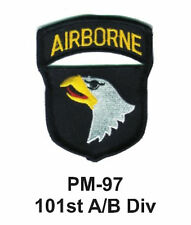 "3"" 101st A/B DIV. Embroidered Military Patch"
