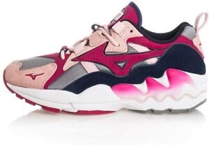 Mizuno Casual Trainers Unisex Wave Rider 1 S Pink