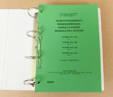 Fendt Favorit 611 LSA   612 LSA   614 LSA  615 LSA  Werkstatthandbuch 1990