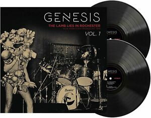 GENESIS The Lamb Lies In Rochester New York State Broadcast 1974 Vol. 1 2-LP NEW
