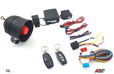 Bloqueo remoto de alarma de coche sistema inmovilizador para entrada sin llave + 2 Dijes 3 botón