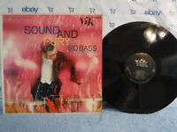 Sid Bass & His Orchestra, Sound And Fury, Vik Records LX 1084, 1957 SEALED Pop