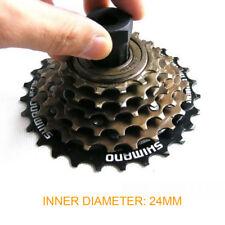 24mm Bike Cassette Freewheel Remover Bicycle Flywheel Locking Ring Repair Tools