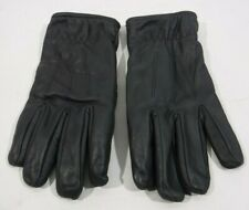 Genuine Ex Police Gloves Black Leather Patrol Event Security SIA Motorcycle Gd1
