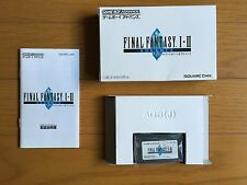 FINAL FANTASY I & II Dawn of Souls GBA, FREE SHIPPING