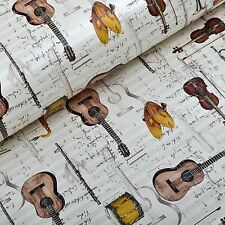 Modern Instrument Music Note Children Wall Paper For Kids Girls Bedroom Decor