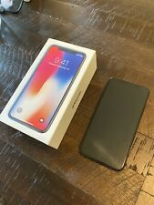 Apple iPhone X - 256GB - Space Gray (Unlocked) **USED PLEASE READ DESCRIPTION**