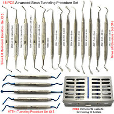 Medentra® Advanced Sinus Lift and Tunneling Procedure Gum Tissue Implant Kit X18