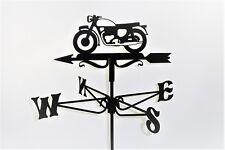 Vintage Motorcycle Metal Weathervane