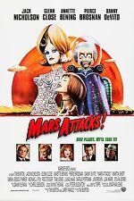 MARS ATTACKS! (1996) ORIGINAL INTERNATIONAL MOVIE POSTER  -  ROLLED
