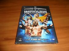 WWE - The Greatest Superstars of Wrestlemania (DVD, 2008, 2-Disc) NEW Hulk Hogan