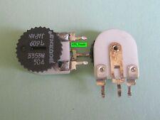 2 pcs  0-500K Ohm Trim Pot Bourns 3353W-504 Linear Potentiometer FREE S&H in US